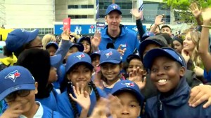 Students surprised with field trip to see Blue Jays game for Greater Toronto Day